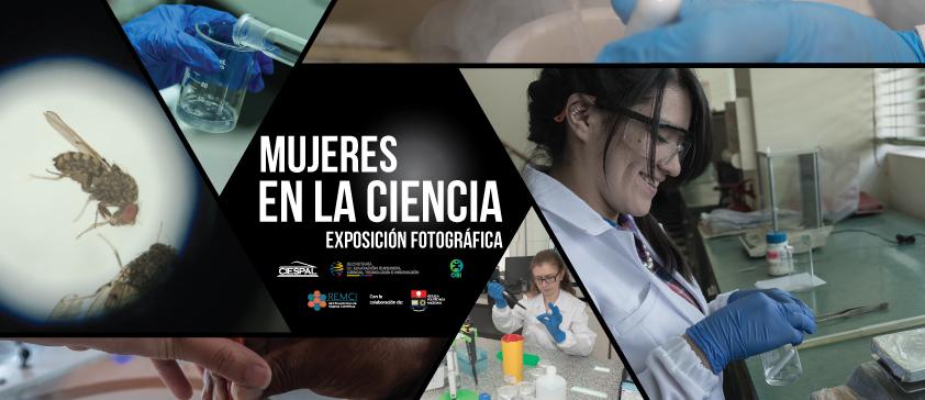 Exposición fotográfica de mujeres en la ciencia