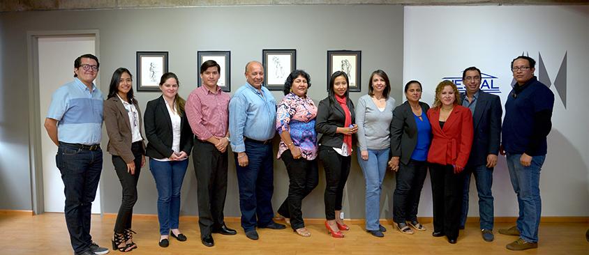 Docentes de la Facultad de Comunicación de la Universidad de Guayaquil visitaron instalaciones de CIESPAL