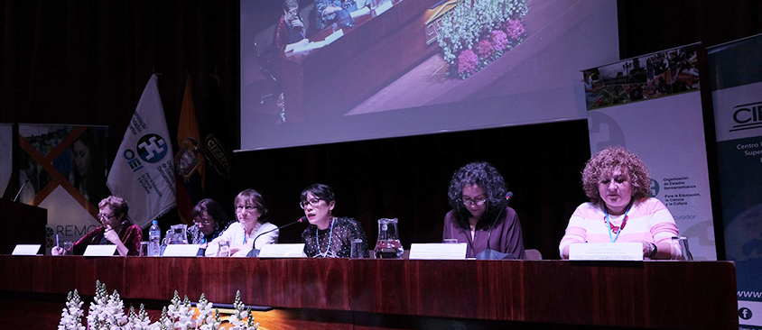 Académicas y científicas concluyen Seminario Internacionalsobre la mujer en la ciencia