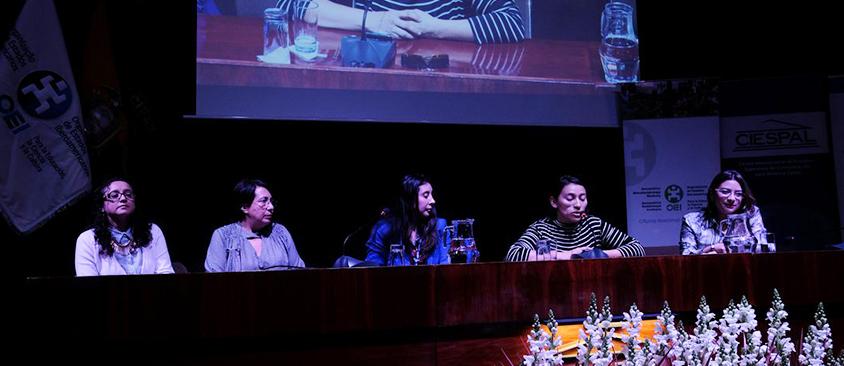 La Red Ecuatoriana de Mujeres Científicas se presentó en el Seminario Internacional sobre el impacto de las mujeres en la ciencia