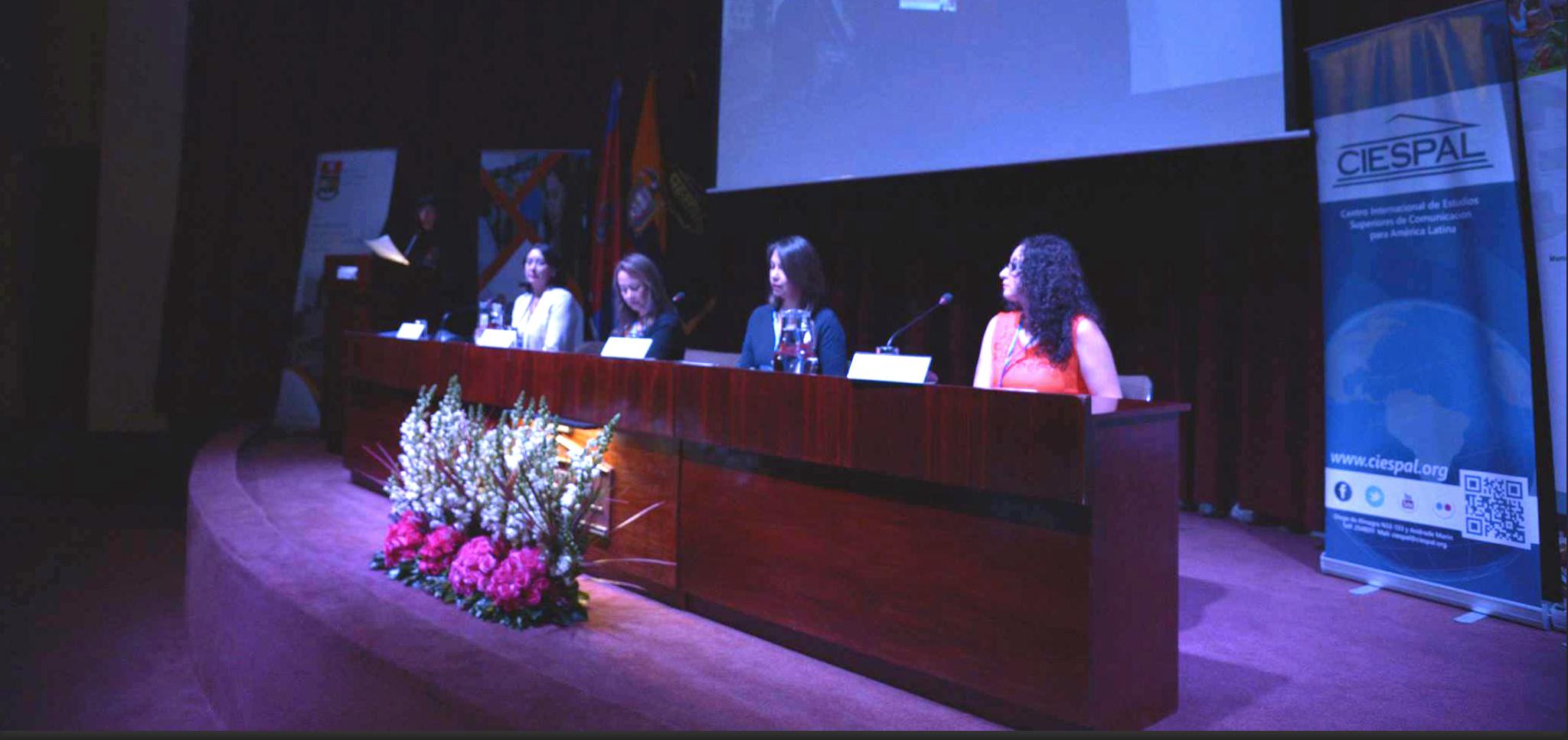 La inauguración de Primer Seminario Internacional Impacto de las mujeres en la ciencia reunió a científicas iberoamericanas en CIESPAL