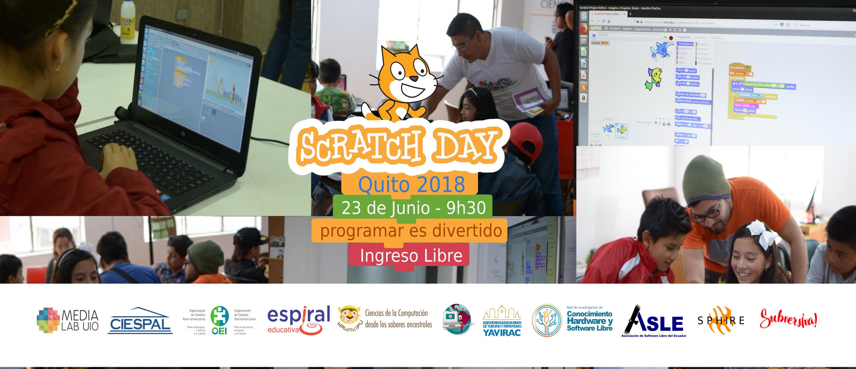 MedialabUIO invita a niños y niñas al Scratch Day 2018