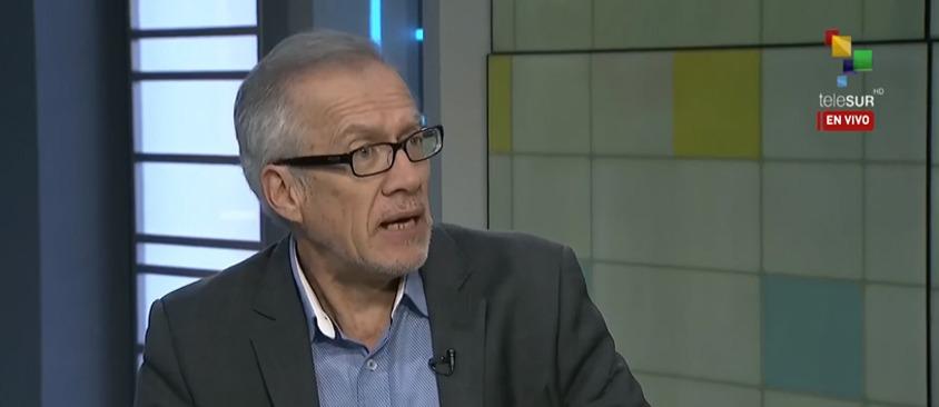 Hernán Reyes, Secretario General de CIESPAL, analizó reformas a la Ley de Comunicación en TeleSur