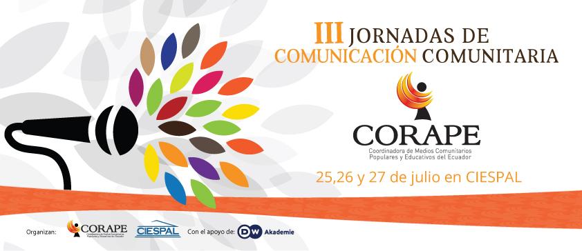 """Las experiencias de los medios comunitarios y las reformas en el ámbito legislativo son temas que se abordarán en las """"III Jornadas de Comunicación Comunitaria"""""""