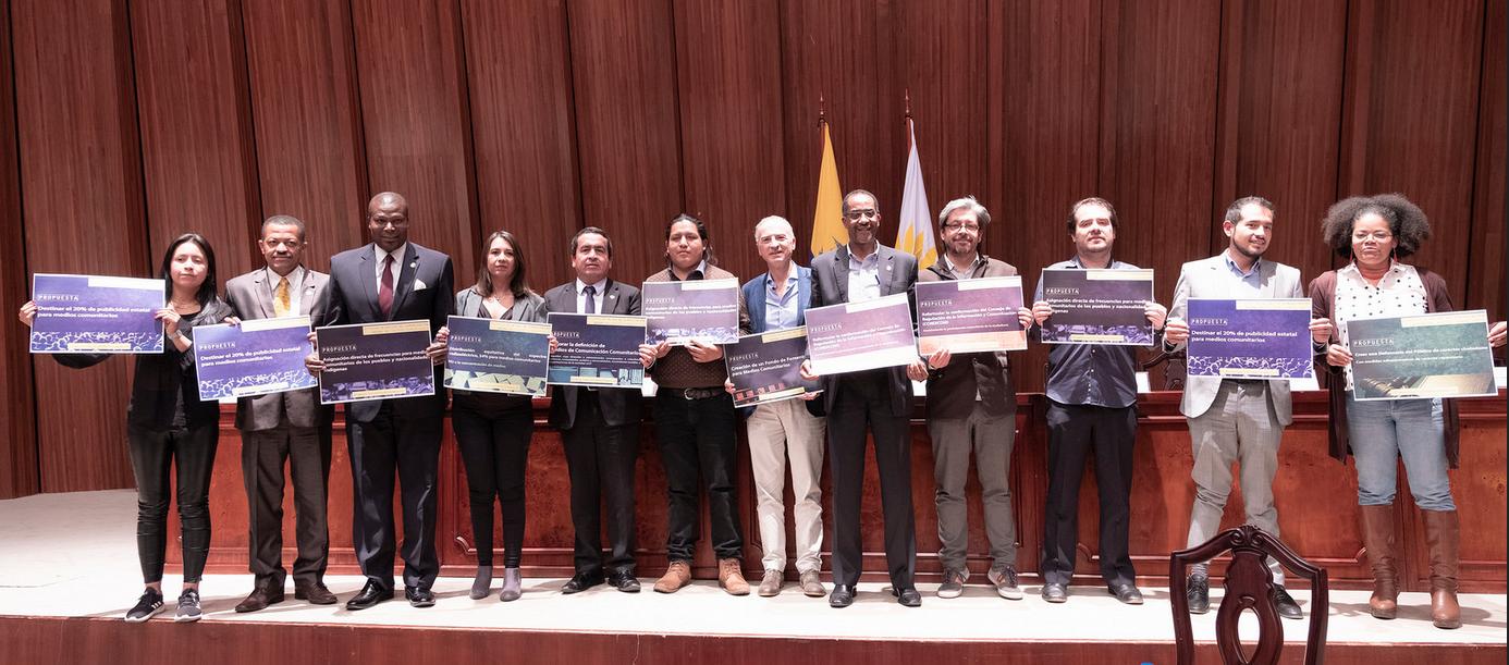 Académicos, comunicadores y asambleístas conocieron avances de las reformas a la Ley Orgánica de Comunicación