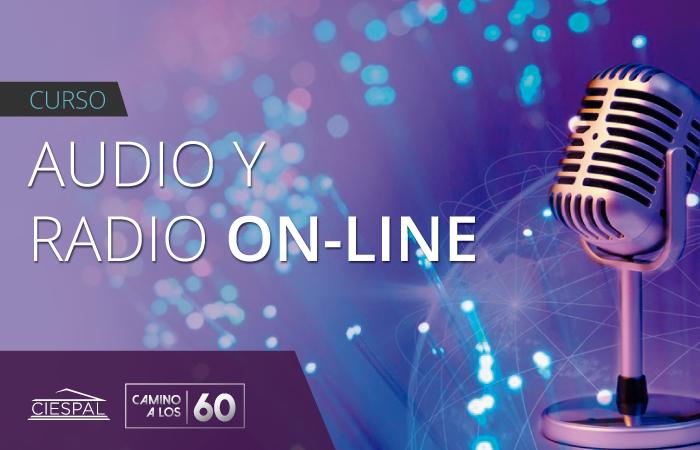 Curso de audio y radio on line