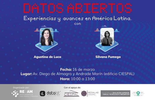 Datos abiertos, experiencias y avances en América Latina
