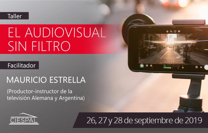 Curso - taller El audiovisual sin filtro @ CIESPAL | Av. Diego de Almagro N32-133 y Andrade Marín