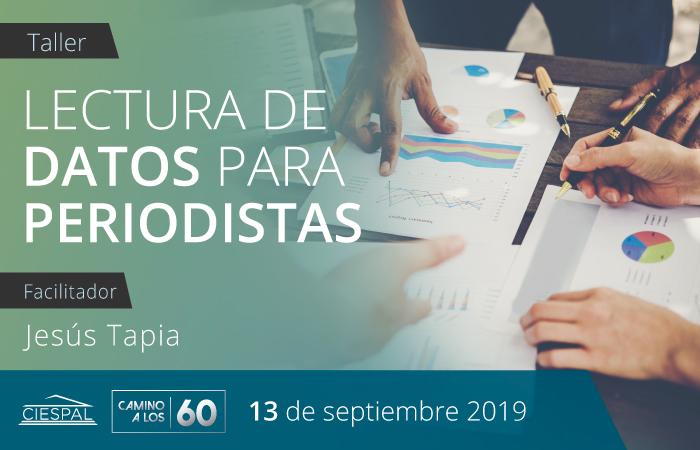 Lectura de datos para periodistas @ CIESPAL Diego de Almagro N32-133 y Andrade Marín