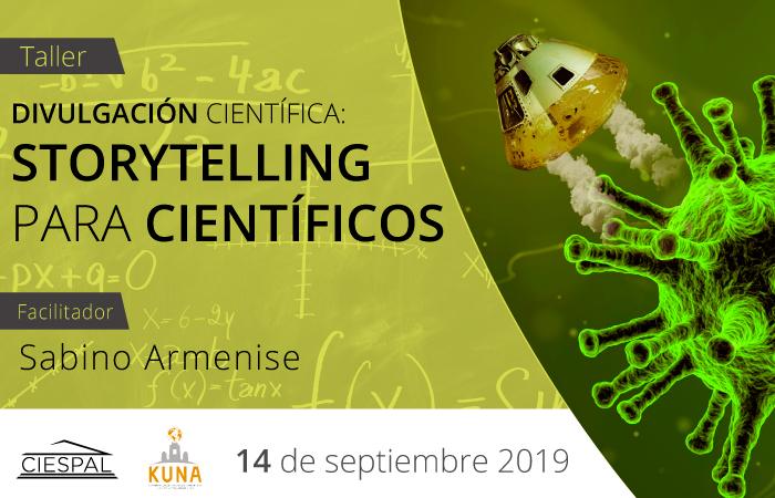 Taller Storytelling para científicos @ Av. Diego de Almagro N32-133 y Andrade Marín