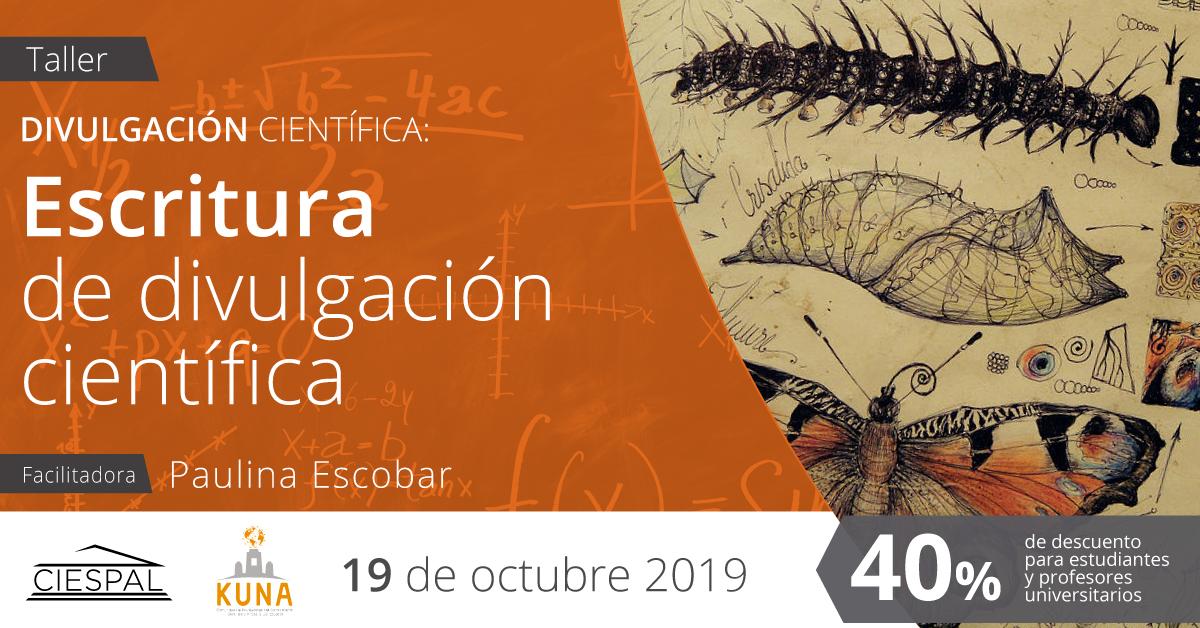 Taller Escritura de divulgación científica @ Av. Diego de Almagro N32-133 y Andrade Marín
