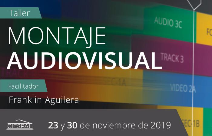 Taller Montaje Audiovisual @ Av. Diego de Almagro N32-133 y Andrade Marín