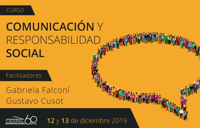 Taller: Comunicación y responsabilidad social empresarial @ Av. Diego de Almagro N32-133 y Andrade Marín