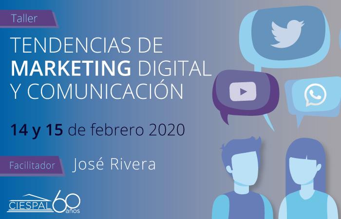 Tendencias de Marketing digital y Comunicación