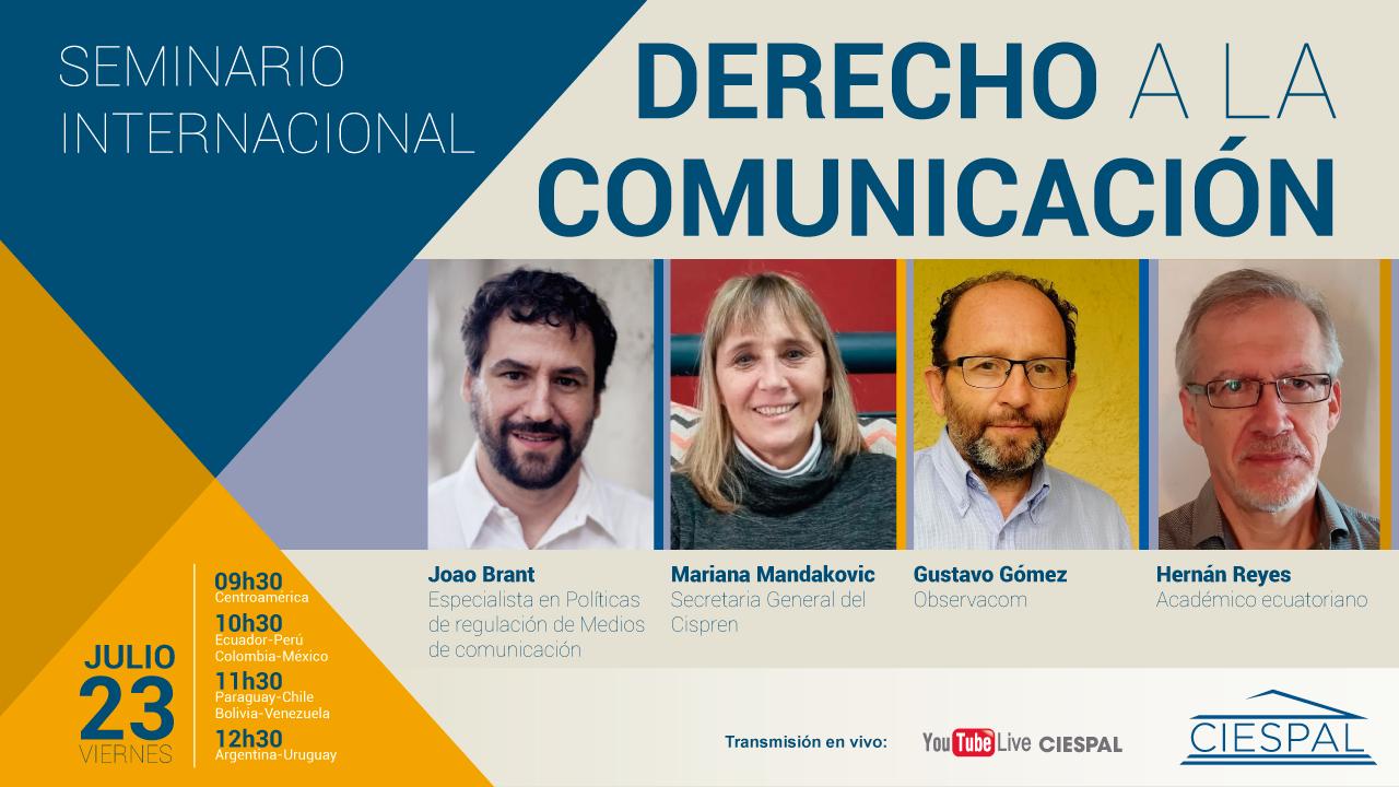 Seminario Internacional: Derecho a la Comunicación