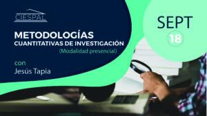 Metodologías cuantitativas de investigación @ CIESPAL