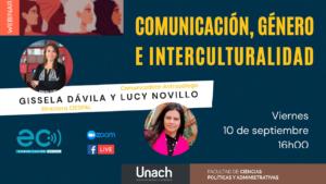 Webinar | Comunicación, género e interculturalidad