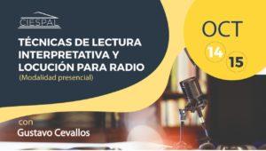 Técnicas de lectura interpretativa y locución para radio @ CIESPAL